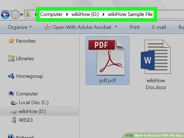 3 Ways to Reduce PDF File Size - wikiHow