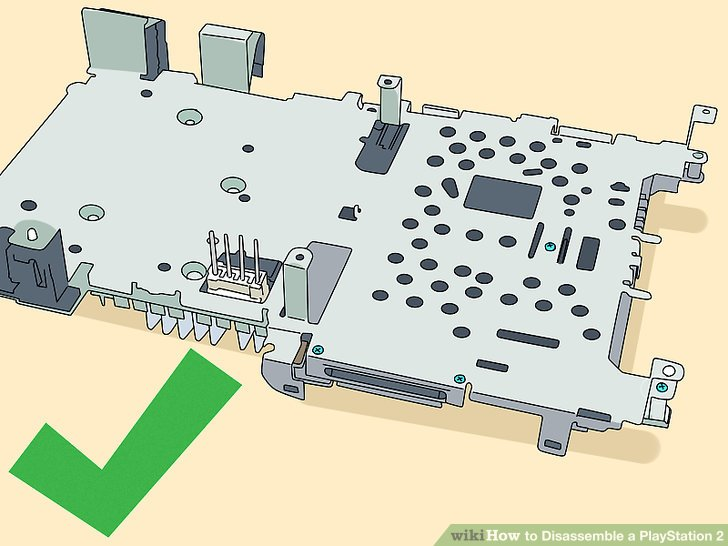 How to Disassemble a PlayStation 2 13 Steps (with Pictures)