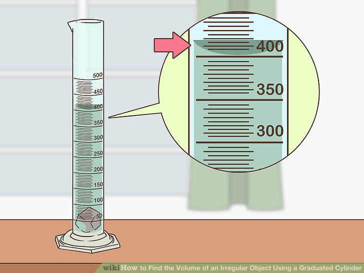 How to Find the Volume of an Irregular Object Using a Graduated Cylinder - tools to measure volume