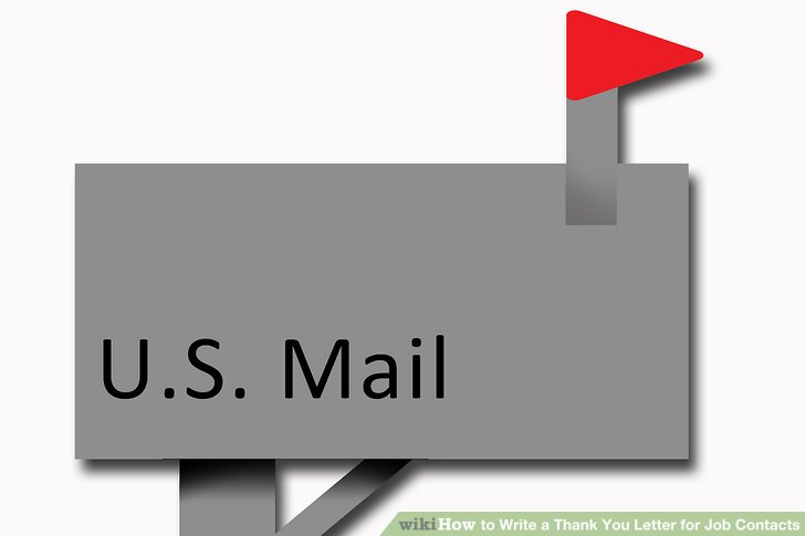 4 Ways to Write a Thank You Letter for Job Contacts - wikiHow - thank you letter to employer