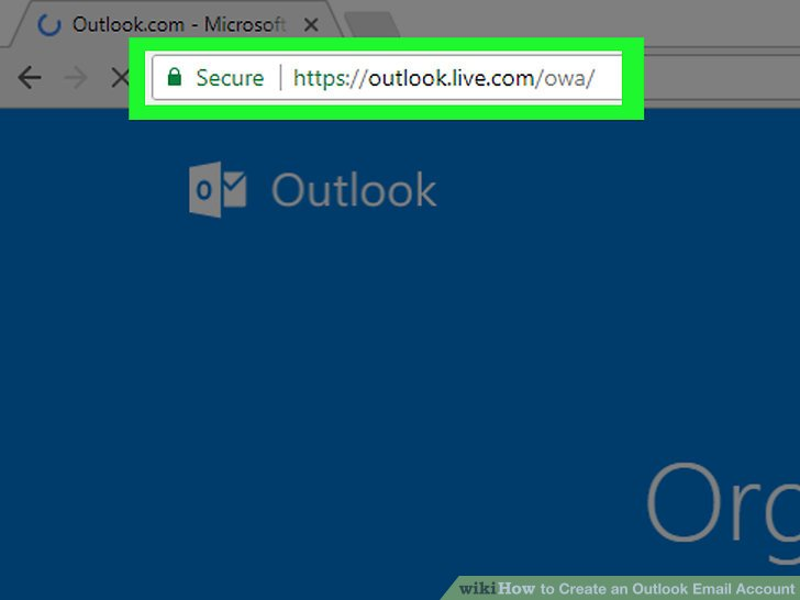 How to Create an Outlook Email Account 9 Steps (with Pictures) - create outlook account