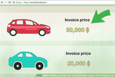 How to Make your New Car Tax Deductible using a Home Equity Loan