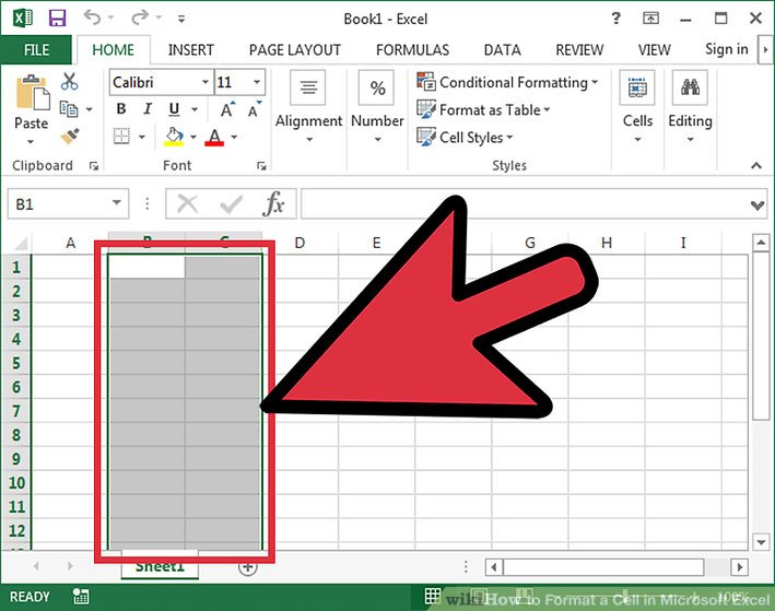 How to Format a Cell in Microsoft Excel 5 Steps (with Pictures)