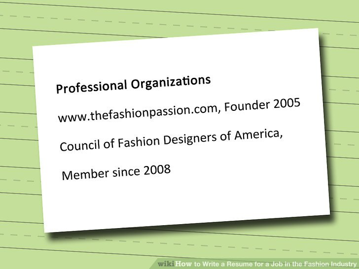 Fashion Resume - nmdnconference - Example Resume And Cover Letter
