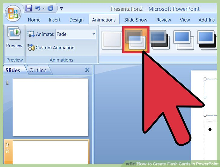 How to Create Flash Cards in PowerPoint (with Pictures) - wikiHow