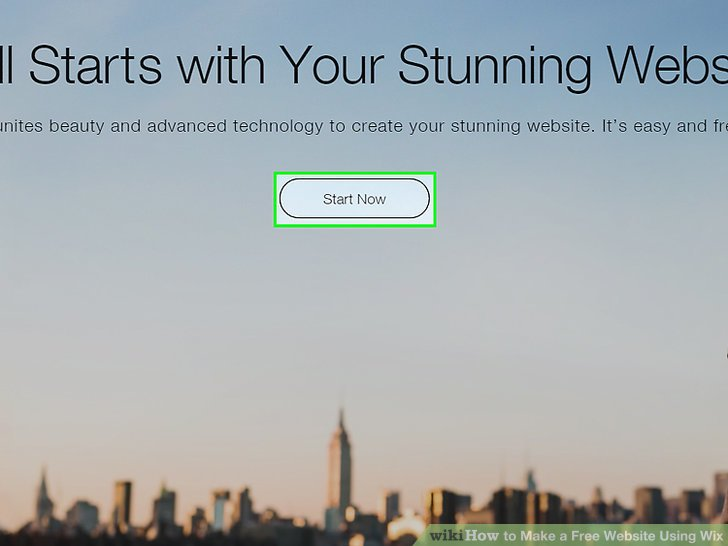 How to Make a Free Website Using Wix 9 Steps (with Pictures)