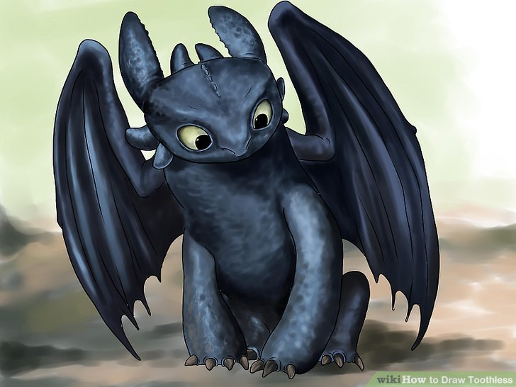 Cute Stitch On Side Wallpaper How To Draw Toothless With Pictures Wikihow