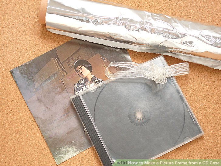 How to Make a Picture Frame from a CD Case 11 Steps