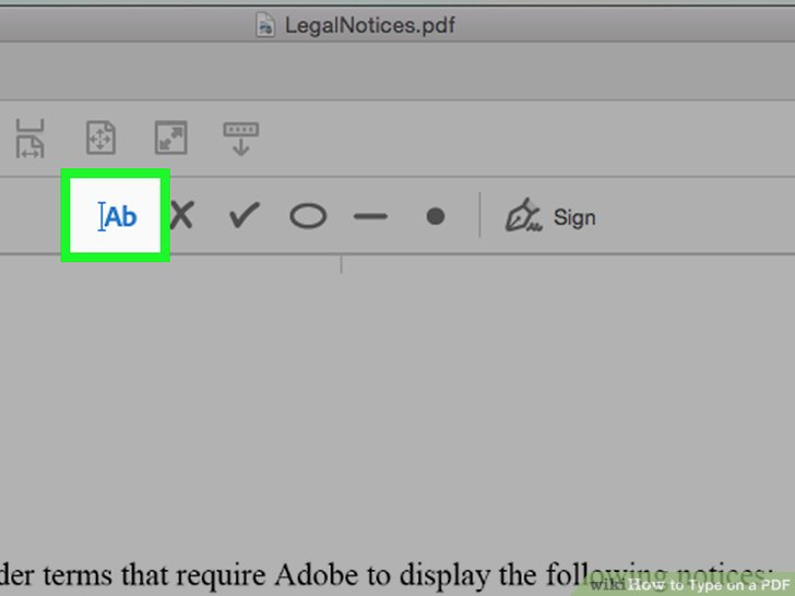 3 Clear and Easy Ways to Type on a PDF - wikiHow