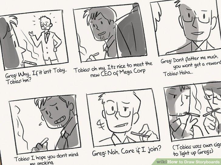 3 Ways to Draw Storyboards - wikiHow