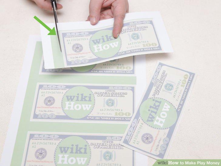 4 Ways to Make Play Money - wikiHow