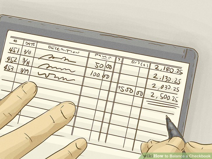 How to Balance a Checkbook (with Examples) - wikiHow