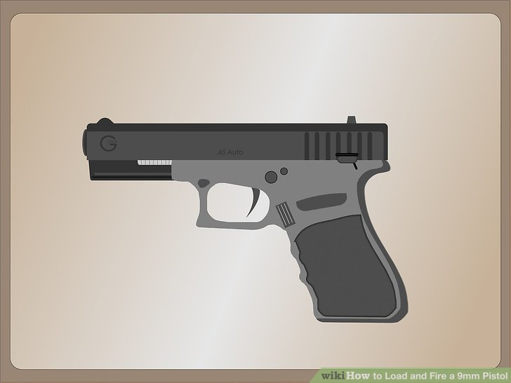 How to Load and Fire a 9mm Pistol 10 Steps (with Pictures)