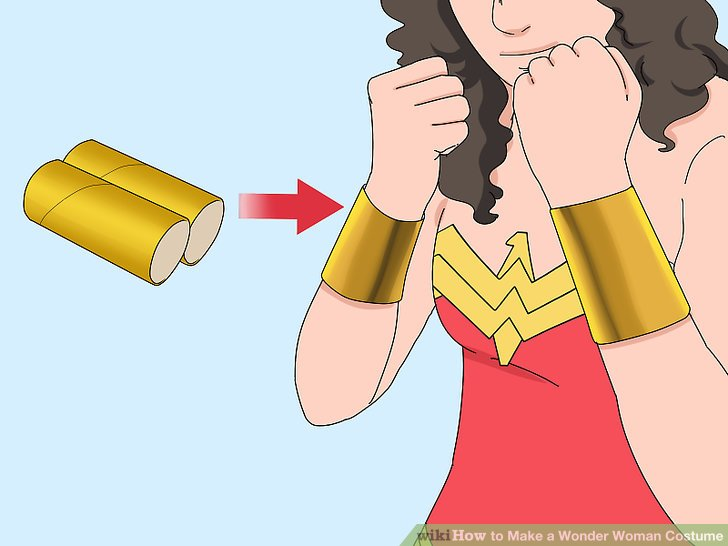 How To Make A Wonder Woman Costume With Pictures Wikihow