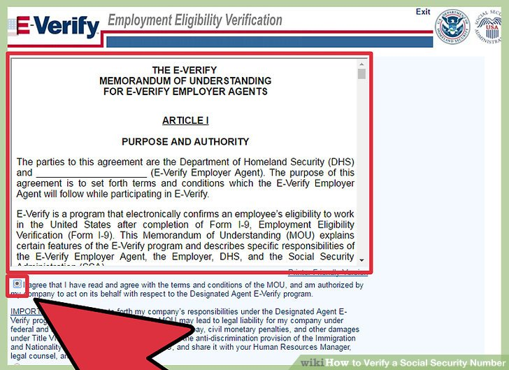 5 Ways to Verify a Social Security Number - wikiHow - social security form