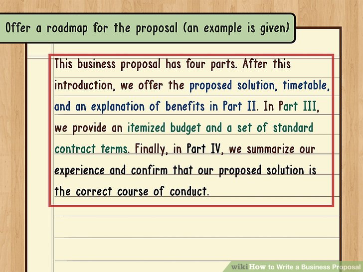 How to Write a Business Proposal (with Pictures) - wikiHow - business propsal template