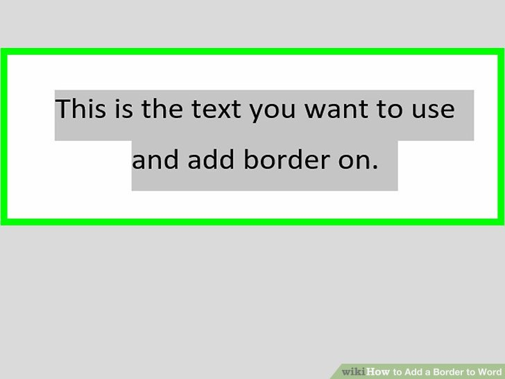 How to Add a Border to Word (with Pictures) - wikiHow