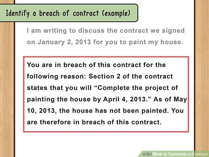 How to Terminate a Contract (with Sample Termination Letters) - contract clauses you should never freelance without