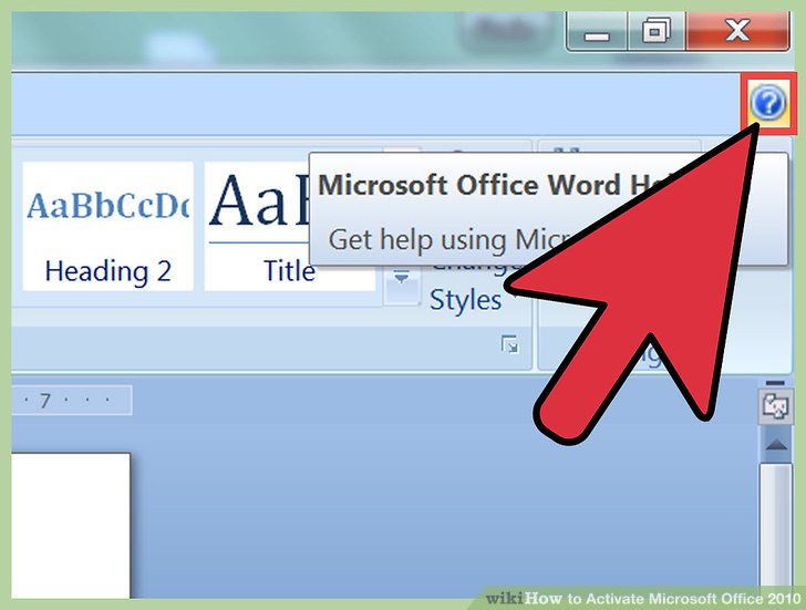 How to Activate Microsoft Office 2010 (with Pictures) - wikiHow