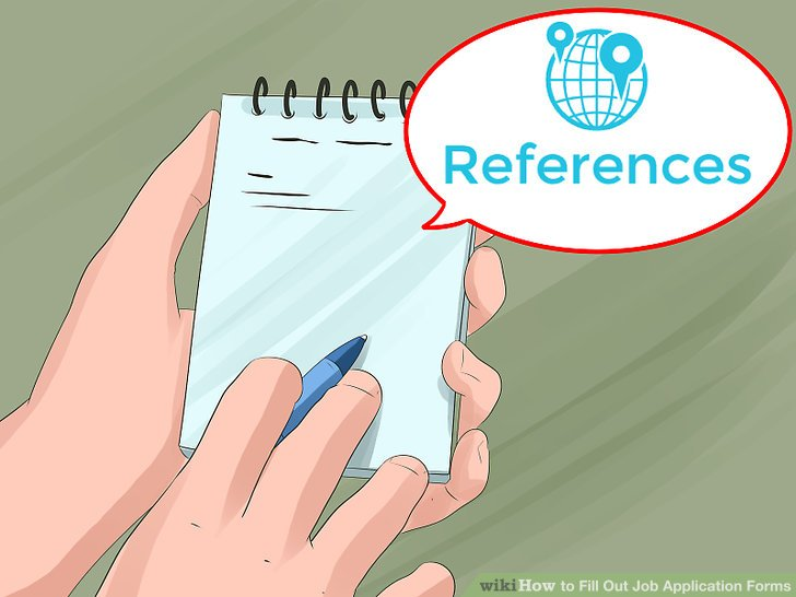 3 Ways to Fill Out Job Application Forms - wikiHow
