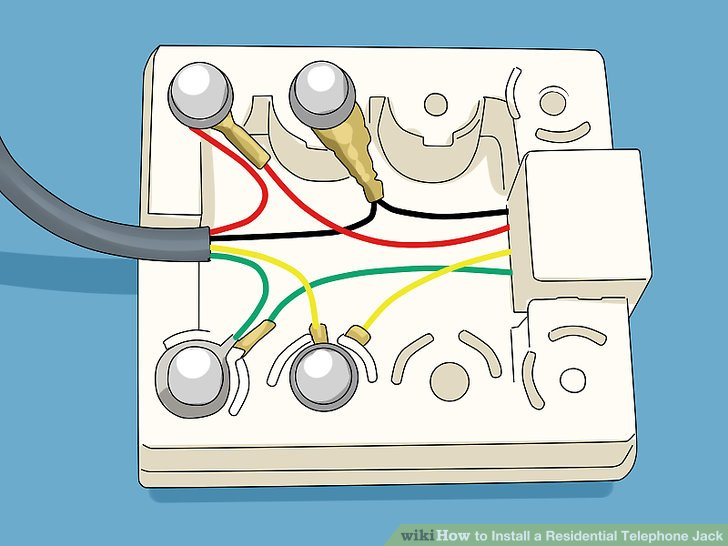 Telephone Jack Wiring Diagram Electronic Schematics collections