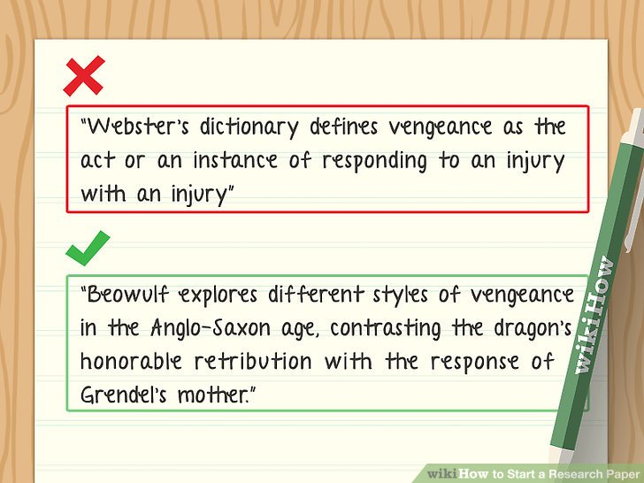 How to Start a Research Paper (with Pictures) - wikiHow
