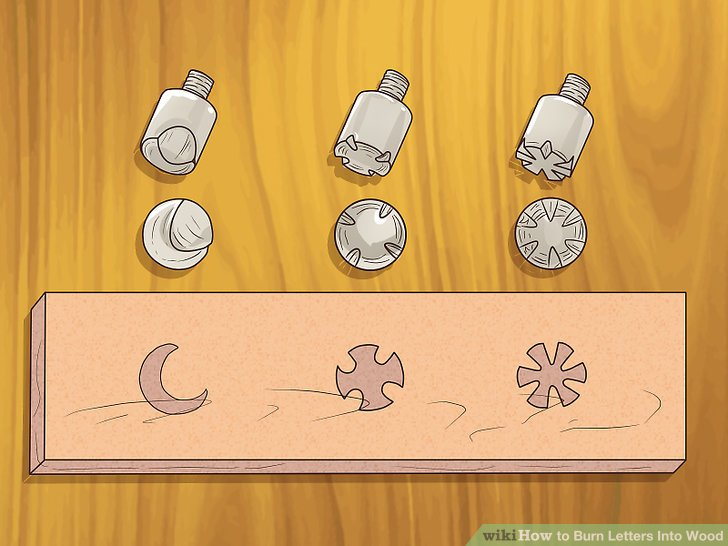 How to Burn Letters Into Wood 15 Steps (with Pictures) - wikiHow