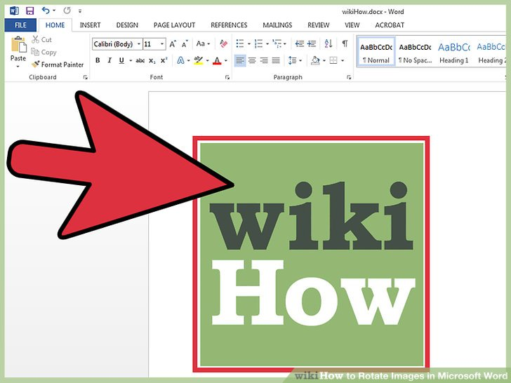 3 Ways to Rotate Images in Microsoft Word - wikiHow - degree in microsoft word