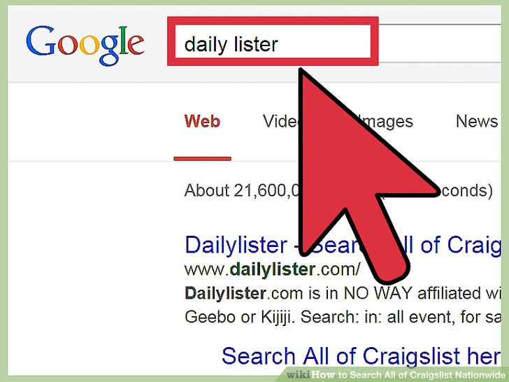 How to Search All of Craigslist Nationwide 7 Steps