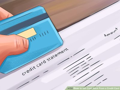 How to Get Cash Back From a Credit Card: 13 Steps (with Pictures)