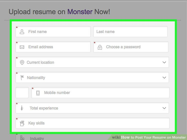 How to Post Your Resume on Monster 15 Steps (with Pictures)