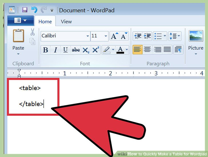 how to make a chart in wordpad - Mersnproforum