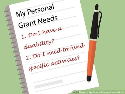 How to Apply for a Personal Need Grant (with Pictures) - wikiHow