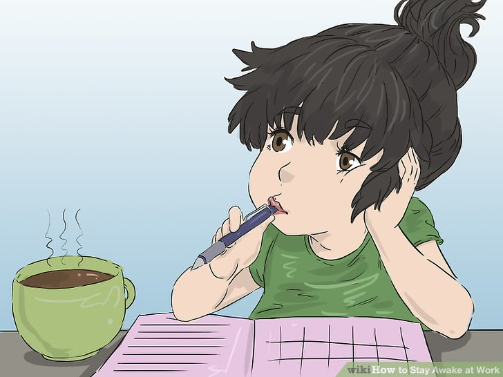 The Best Way to Stay Awake at Work - wikiHow