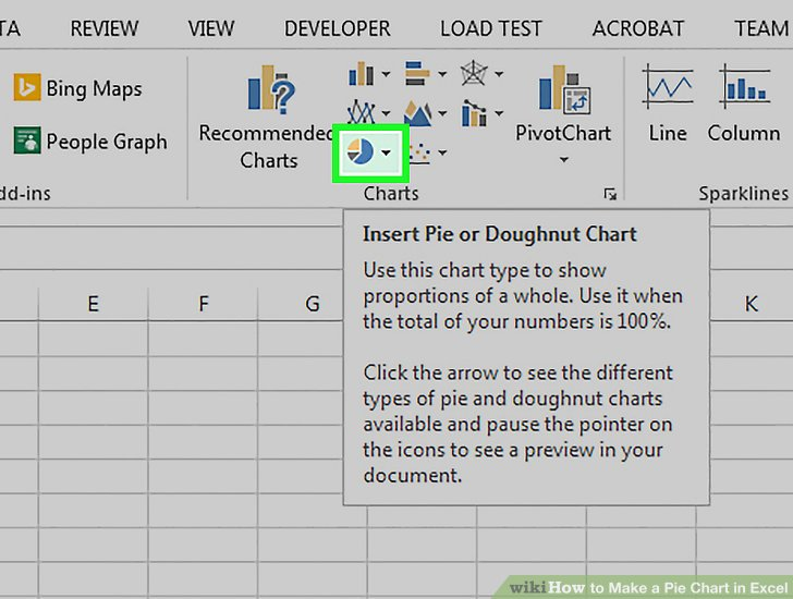 How to Make a Pie Chart in Excel 10 Steps (with Pictures)