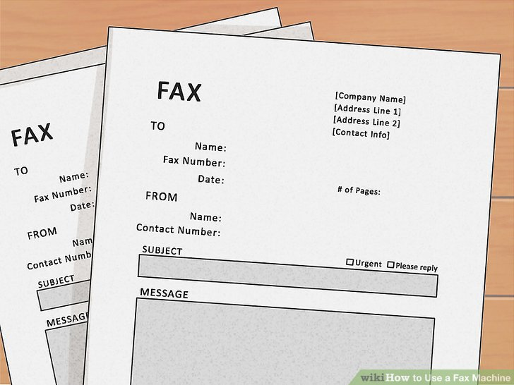 How to Use a Fax Machine (with Pictures) - wikiHow - fax document
