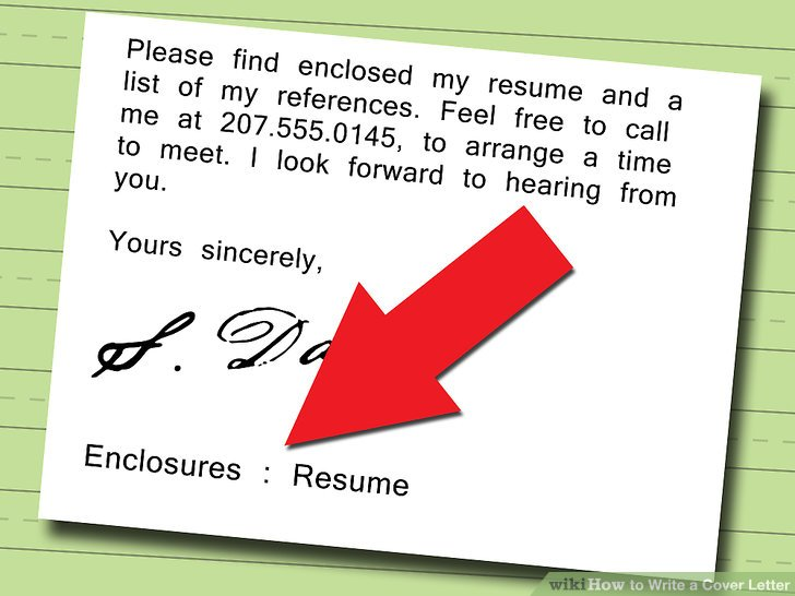 5 Ways to Write a Cover Letter - wikiHow - how to do resume cover letter