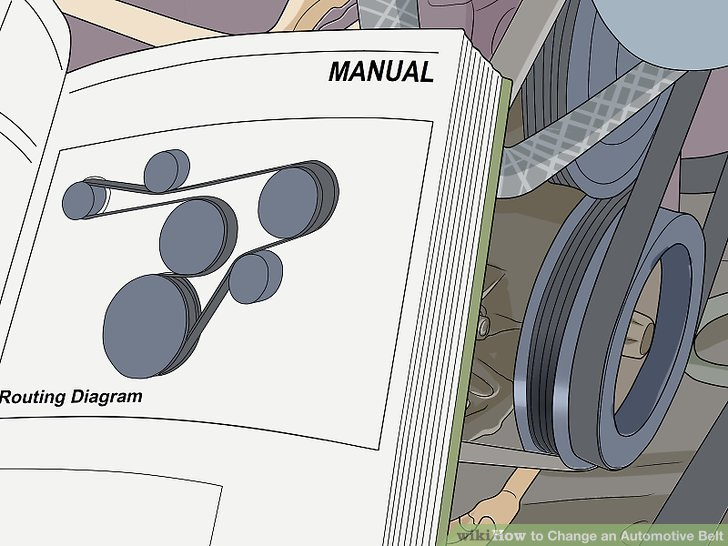 How to Change an Automotive Belt 12 Steps (with Pictures)