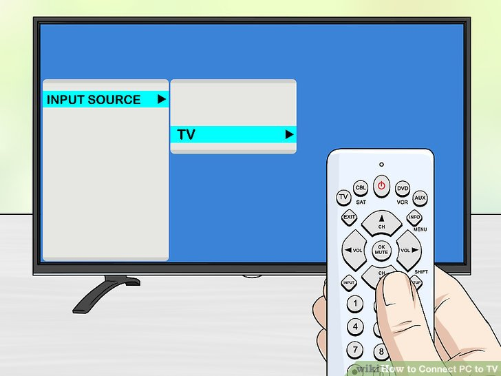 4 Ways to Connect PC to TV - wikiHow