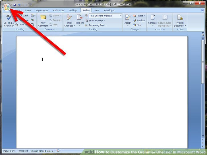 How to Customize the Grammar Checker in Microsoft Word 5 Steps - microsoft word