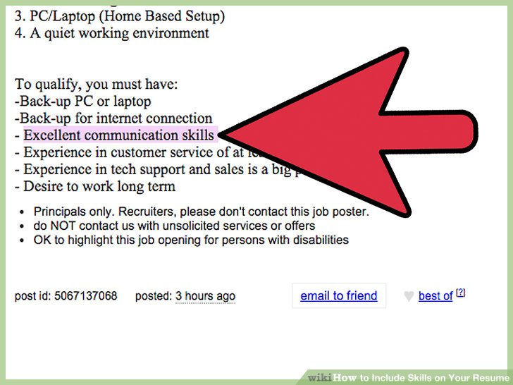 3 Ways to Include Skills on Your Resume - wikiHow