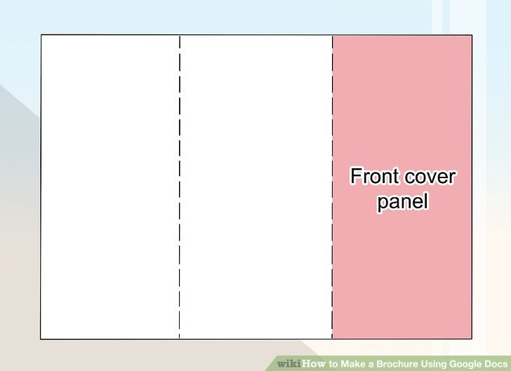 How to Make a Brochure Using Google Docs - wikiHow - make pamphlet online