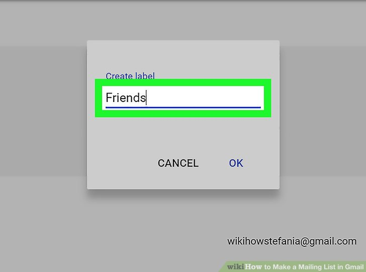 The Best Way to Create a Group Mailing List in Gmail - wikiHow