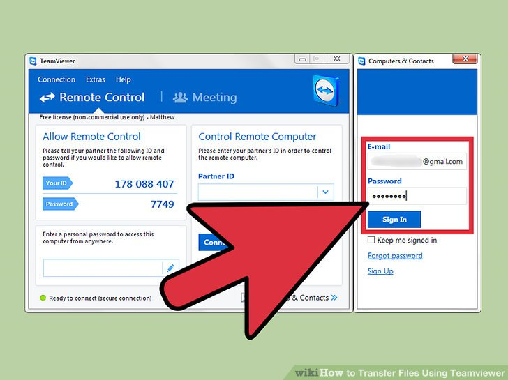 How to Transfer Files Using Teamviewer 11 Steps (with Pictures)