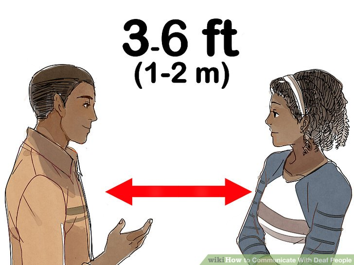 3 Ways to Communicate With Deaf People - wikiHow - deaf people in the workplace