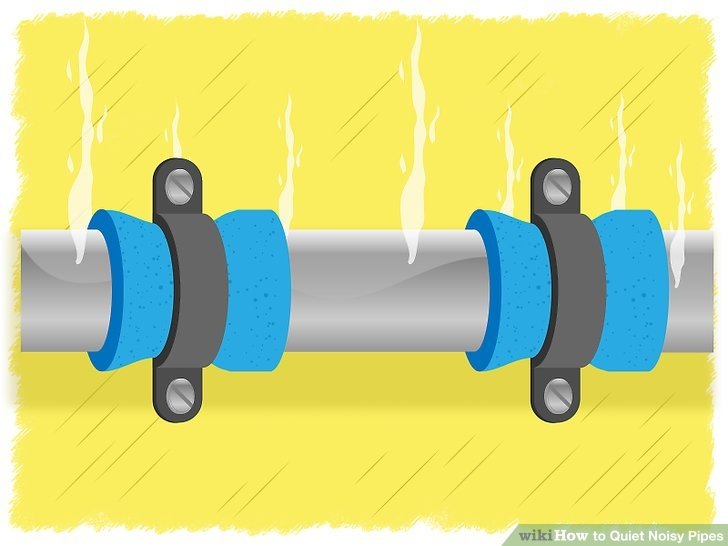 4 Ways To Quiet Noisy Pipes Wikihow