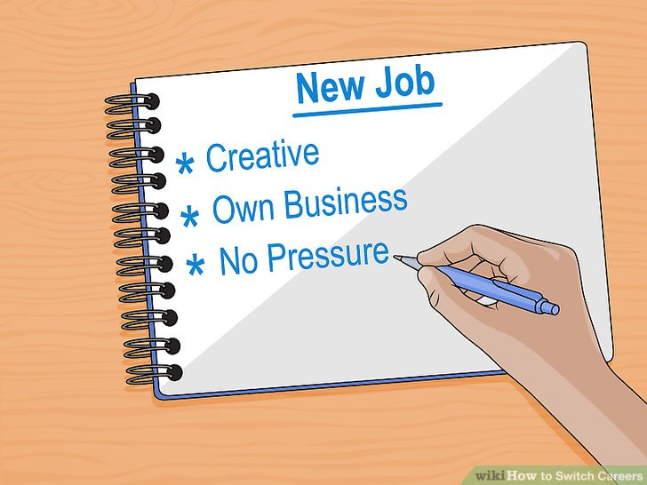 4 Ways to Switch Careers - wikiHow