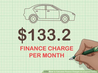 How to Calculate Finance Charges on a Leased Vehicle: 11 Steps