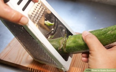 The Best Way to Grate Zucchini - wikiHow