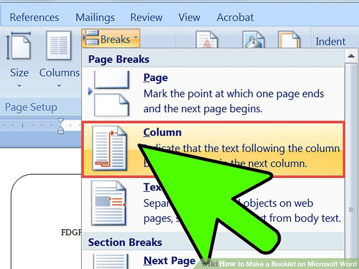 2 Easy Ways to Make a Booklet on Microsoft Word - wikiHow